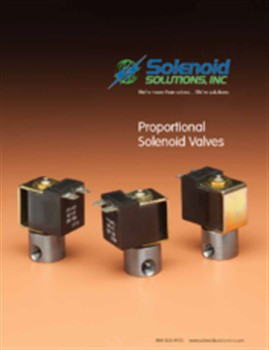 Proportional Valves Brochure